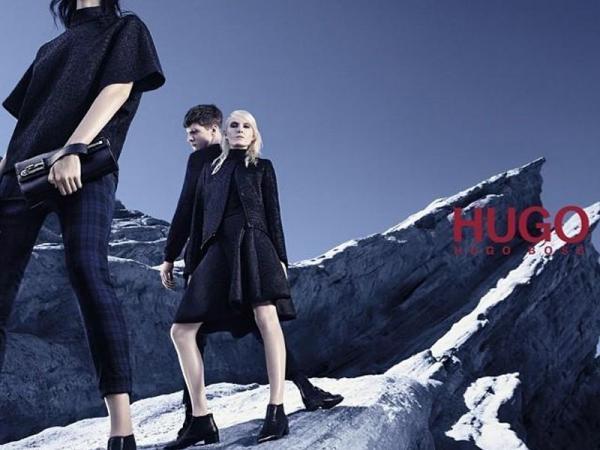 Maja Salamon dla Hugo Boss