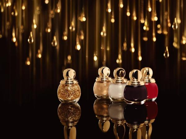 Dior Golden Shock 2014 lakiery