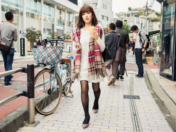 moda uliczna Tokio