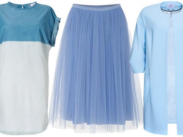 niebieskie ubrania