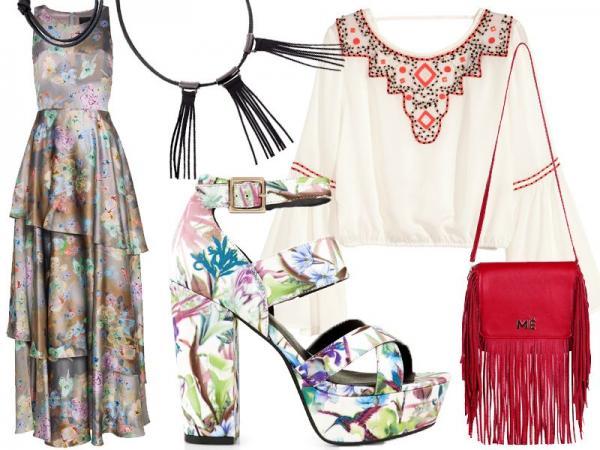 styl hippie - wiosna 2015