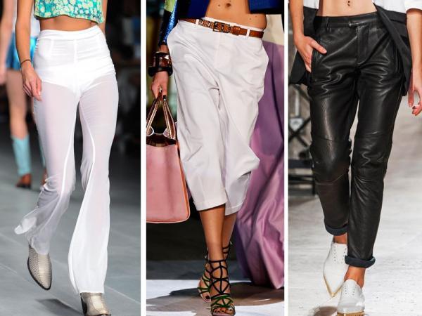 3 modne fasony spodni - jak je nosić?