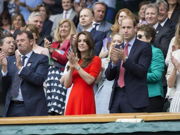 księżna Kate na Wimbledonie
