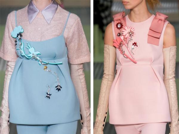 pastelowe ubrania