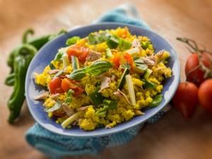 Sałatka z kuskusa z warzywami