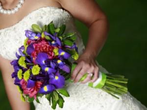 Bukiet ślubny - jak dobrać niebieskie kwiaty?