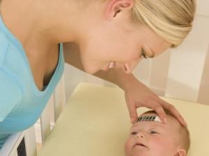 Gorączka u noworodka