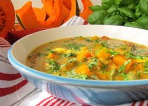 Tajska zupa z dynią - Kasia gotuje z Polki.pl