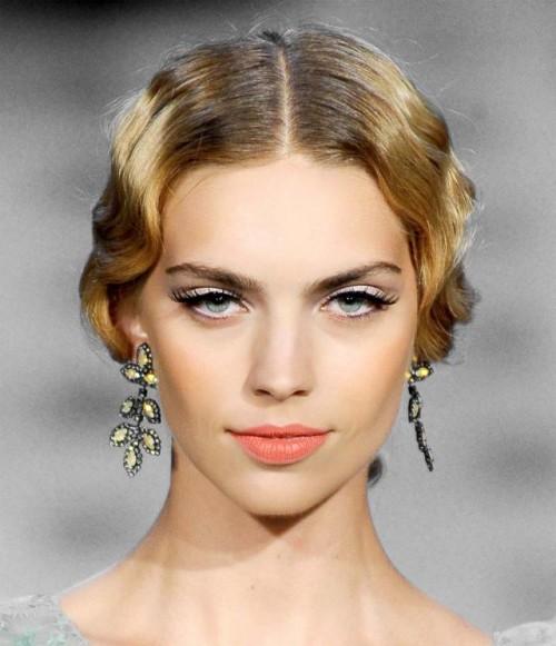 retro fryzura, fryzura lata 20., fryzura dekadencja, trendy 2012, modna fryzura