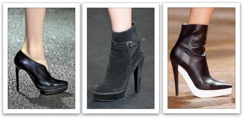 buty i botki jesień 2012