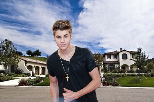 Justin Bieber dom, jak mieszka Justin Biebier, wnętrze Bieber