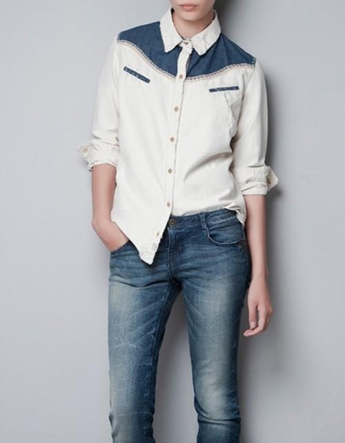 Kowbojska koszula Zara, ok. 149zł