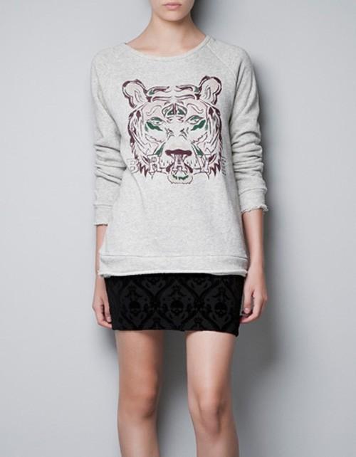 Bluza z grafiką Zara, ok. 99zł