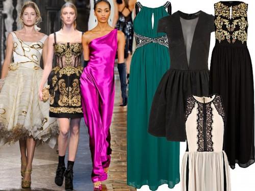 Modne sukienki na studniówkę 2013