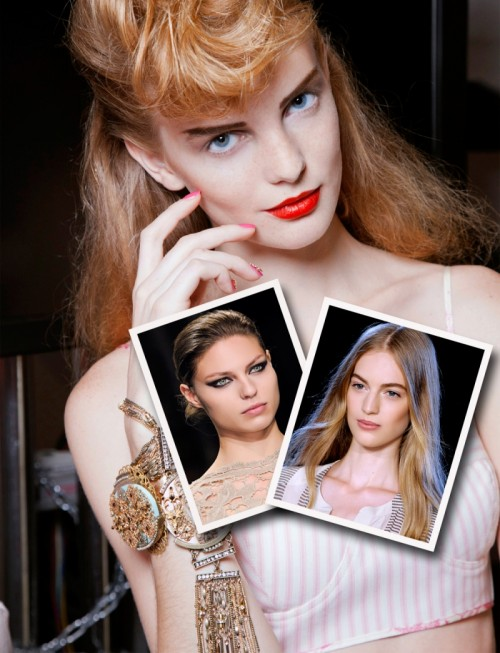 wiosna 2013 - trendy, trendy 2013, modny makijaż 2013