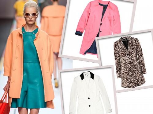 modne płaszcze wiosna 2013