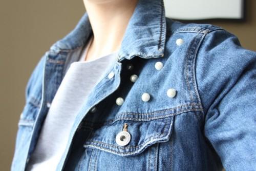 Samodzielne ozdabianie kurtki jeansowej