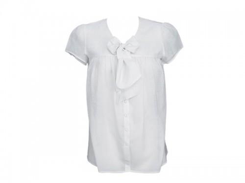 bluzka, koszula, biały