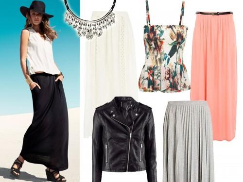Modne stylizacje lato 2013