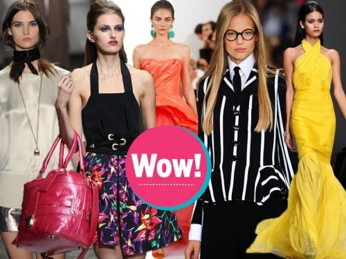 moda wiosna-lato 2014, trendy wiosna 2014