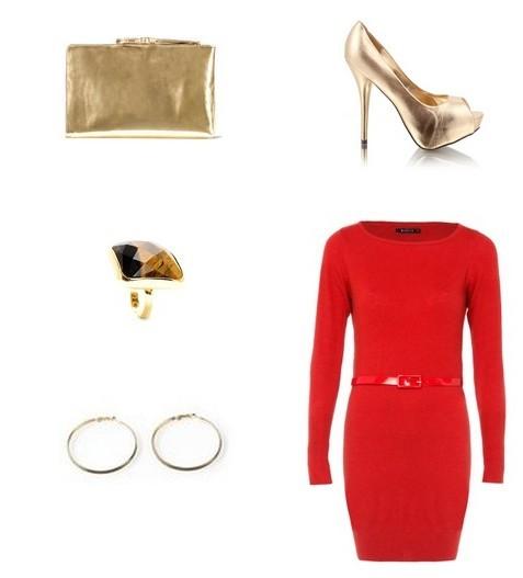 moda jesień-zima 2011/2012, stylizacja, Boże Narodzenie 2011, swetrosukienka