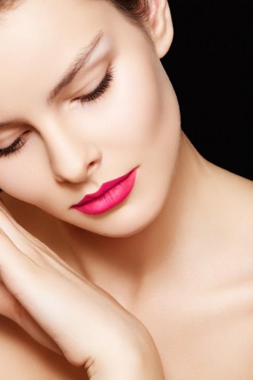 uroda, szminka, twarz, makijaż