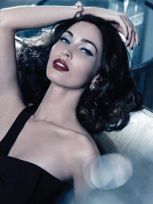 Makijaż Giorgio Armani, Megan Fox - święta 2011
