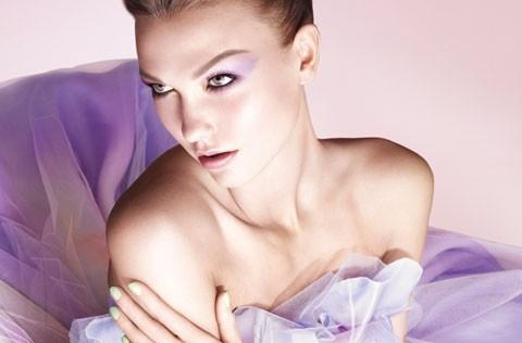 Pastelowy makijaż Dior 2012