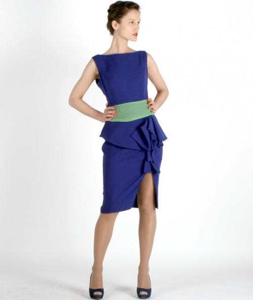Maja Kotecka kolekcja wiosna 2012 sukienka