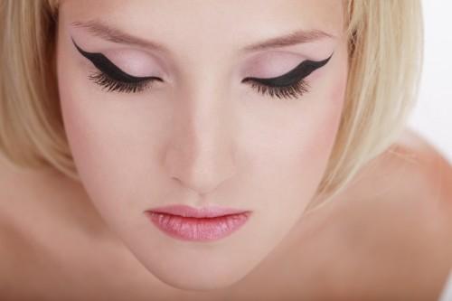 makijaż, kobieta