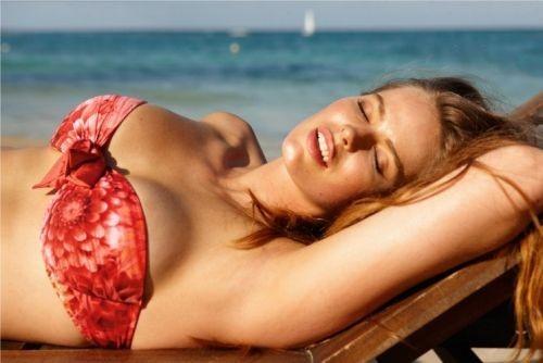 Kostiumy kąpielowe Calzedonia 2012 - dla pełnych kształtów