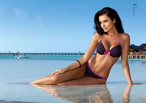 Natalia Siwiec w sesji kostiumów kąpielowych Mewa-styl - lato 2012
