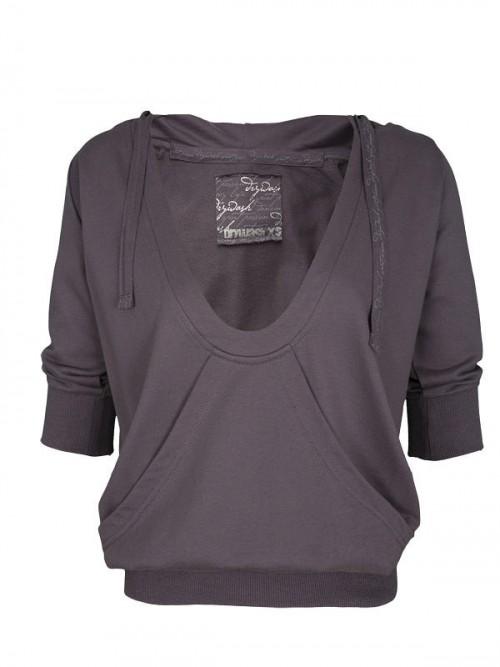 Krótka bluza Drywash przeceniona z 89.99 na 39.99 zł