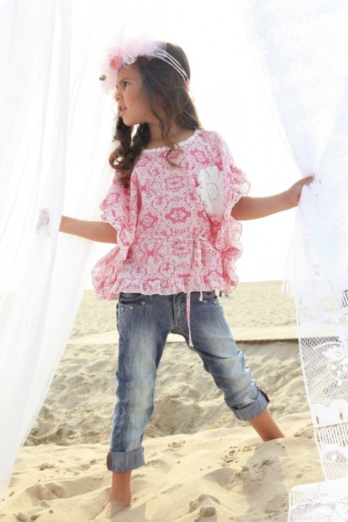 Ubranka dla dziewczynki Mim-Pi - lato 2012