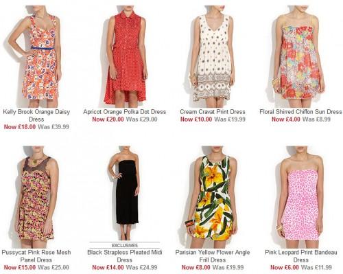 Sukienki z wyprzedaży New Look