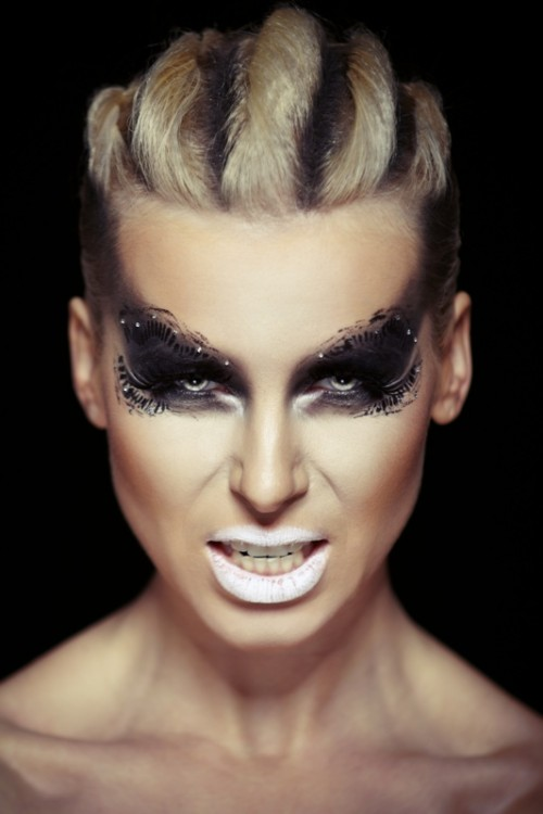 makijaż, wizaż, charakteryzacja