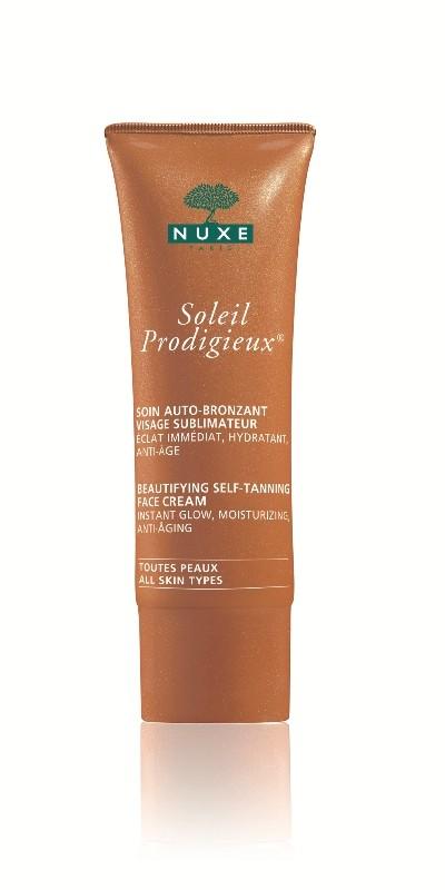 Samoopalacz do twarzy Nuxe, 75 zł/40 ml