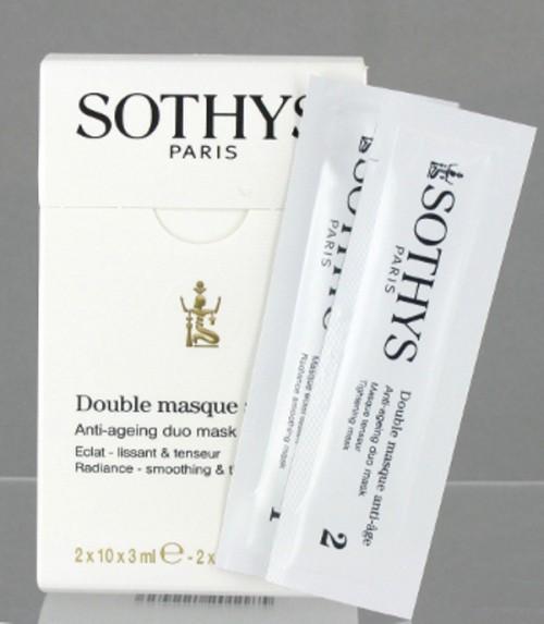 Dwufazowa maska przeciwzmarszczkowa Optimum Sothys Linia Collagene Hyaluronic, cena 175 PLN, saszetki 2x10x3 ml