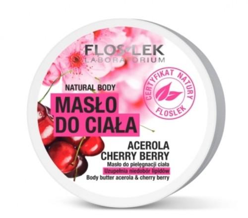 Masło do ciała Natural Body acerola Floslek