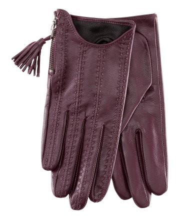 Rękawiczki skórzane - H&M, 99,90 zł