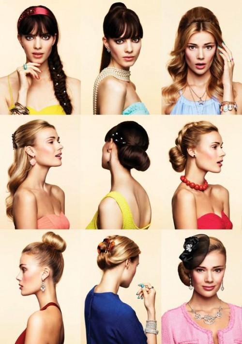 Fryzury - stylizacje Glitter