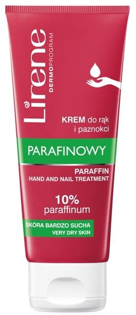 Parafinowy krem do rąk i paznokci Lirene, 7,99 zł/100 ml