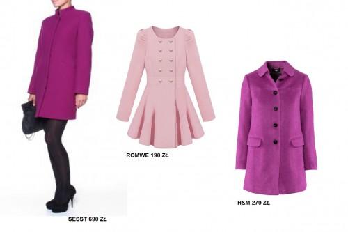 Modne płaszcze - jesień 2012