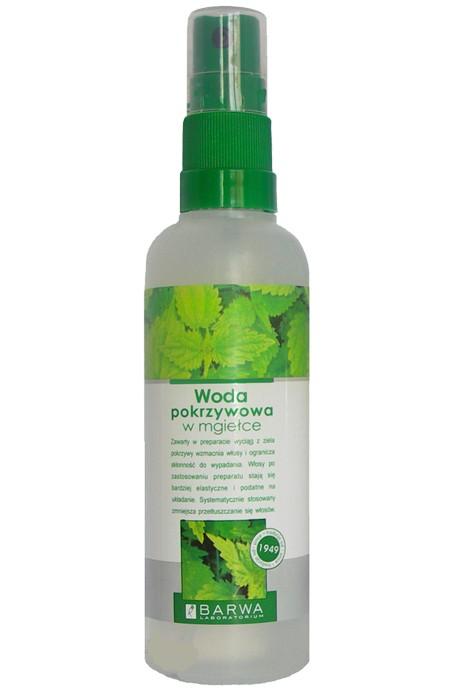 Woda pokrzywowa w mgiełce zawiera wyciąg z pokrzywy, który wzmacnia włosy i ogranicza skłonność do wypadania. Barwa, 5.89 zł.