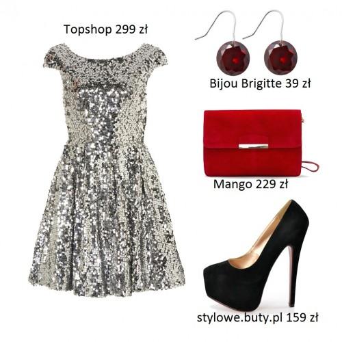 5 sukienek - stylizacje sylwestrowe