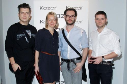 gwiazdy na pokazie Kazar s/s 2013