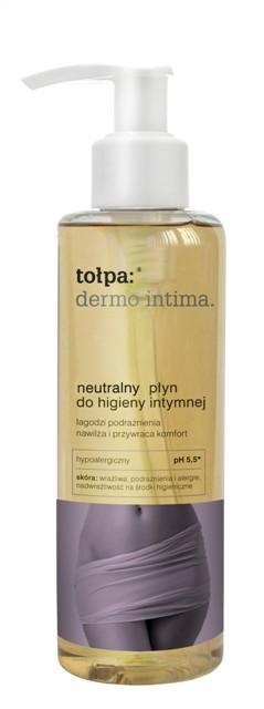 Neutralny płyn do higieny intymnej - Tołpa