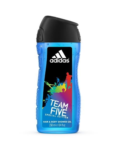 Żel pod prysznic, Adidas Team Five, 250ml/11 zł, 400ml/15zł