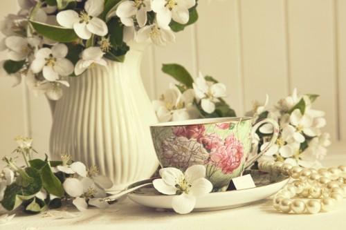 Kwiaty jabłoni, dekoracje wielkanocne