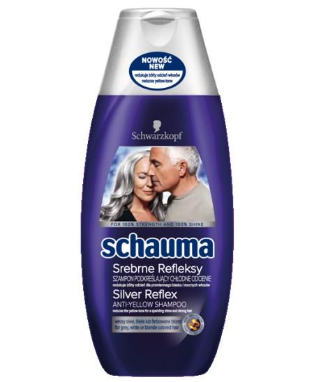 Szampon Schauma srebrne refleksy, cena ok. 7 zł/ 250 ml